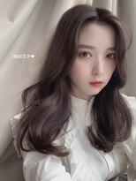 【佐々木友絵】20代30代40代◎韓国小顔レイヤースタイル