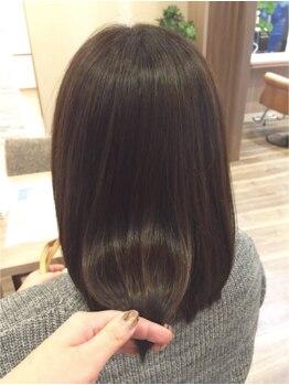 パザパ 花楯店 山形(pa za pa)の写真/《ファン続出◎》施術前と施術後では全く髪質が違う!多様なお悩みを解決♪ずっと触れたくなる髪へ