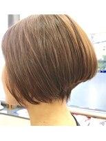 ヘアーメイクチャム(hair&make CHUM)グラデーションボブ