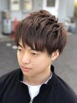 エミュー 笠間店(emu)束感×マッシュ