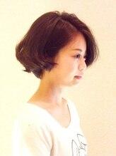アルー ヘアーデザイン 中山寺店(aluu hair design)ナチュラルなショートスタイル