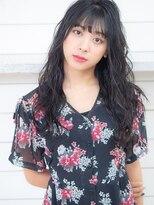 オーブ ヘアー カーム 橋本店(AUBE HAIR calm)黒髪◆ほつれ清楚パーマ