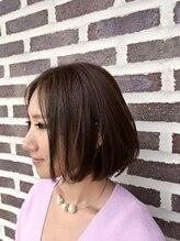 ヘア フィックス リュウ リゾート(hair fix RYU Resort)クールアッシュボブ【浦和】