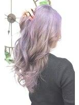 ヘアーサロン エール 原宿(hair salon ailes)(ailes原宿)style330 デザインカラー☆ラベンダーブロンド