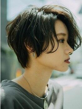 ヘアーディレクションイアス (HAIR DIRECTION eAs)の写真/憧れのショートヘアを手に入れよう☆あなただけの似合わせカットでナチュラル&上品なスタイルに◇
