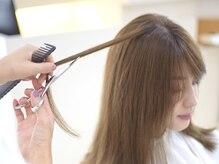 素敵なヘアスタイルを、キレイな髪質で。