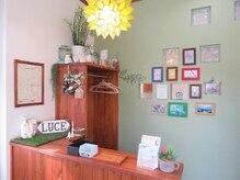 美容室 ルーチェ(LUCE)の雰囲気(アットホームな店内でお出迎え♪)