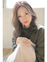 アグ ヘアー ドレス 喜久田店(Agu hair dress)小顔ラフカールミディ