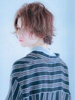 ルージュ(Rouge)【山野 俊貴】ウェーブパーマネオウルフ