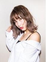 ゼロニイロク(026)《026style》LA風外ハネシフォンベージュ【中村 祥雄】