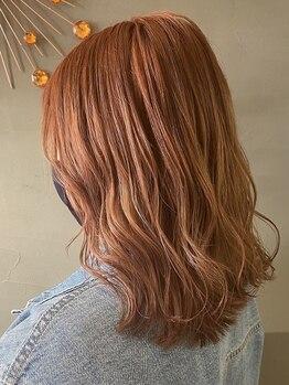 グランツ ヘアー(glanz hair)の写真/洗礼されたセンスと技術で大人気のデザインカラー☆アナタだけの似合わせカラーは【glanz hair】で決まり!