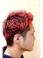 ディスパッチヘアー 甲子園店(DISPATCH HAIR)レッドスパイキースタイル