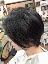 ヘアーサロン テイル リバー(Hair Salon Tail River)美シルエットのハンサムショート☆