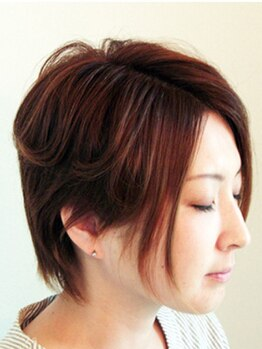 """ヘアサロンカルア(Hair salon KARUA)の写真/髪質・頭皮環境改善サロンだからこそ使用薬剤にこだわり有り◎髪に優しい""""弱酸性薬剤""""を使用しています★"""