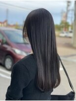 美髪★ アッシュブラック×リッチブラック