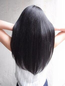 """エーダブリュー(AW)の写真/芯から潤いを実感できる オーダーメイドな仕上りに─『最上級Tr""""TOKIO""""×AW縮毛矯正』で憧れのサラサラ美髪"""