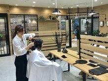 ファス トレインチ自由が丘店(FaSS)の雰囲気(仕上げはアイロンやコテ、整髪料を使ったスタイリングをします。)
