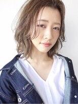 ノイ(noi)#noi_style くびれボブ×シナモンベージュ