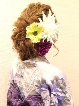 セットサロンエイト(set salon 8eight.)の写真/NET予約OK★イベントは8eight.で決まり!定額ヘアセット¥1100★結婚式のヘアセットや着付けも何でも任せて◎