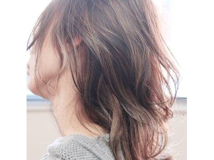 ダブル ヒッチ ヘア(W Hitch hair)