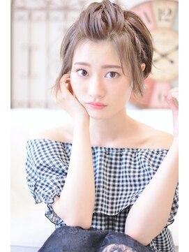 メイズ(MAZE)【メイズ東中野・鍛原志行】ショートのポンパドールアレンジ