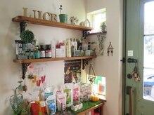 美容室 ルーチェ(LUCE)の雰囲気(朝のお手入れが楽になる商品を手に入れて☆)