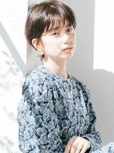 フィルムス 銀座(FILMS)黒髪マッシュミニマムボブ