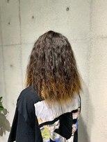 ツイストパーマ ×ロングヘア