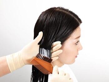 リーフ(Leaf)の写真/注目のハイブリッドトリートメント取扱店☆髪の内部に働きかけ毛髪深部に水素、コラーゲンを浸透させます!