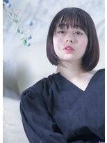 オゥルージュ(Au-rouge noma)【aurouge noma 柳瀬香里】とろみ/暗髪ナチュボブ