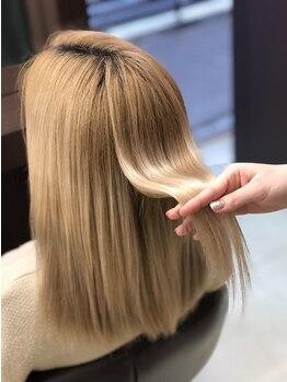 ラグゼヘアカミヤ 菊川店(luxe hair CAMIYA)の写真/【菊川市加茂/9時~営業】髪が伸びても崩れにくいスタイルが◎今の自分にフィットする個性を活かしたヘアに