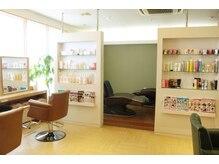 ジョイ美容室 フレグランス(fragrance)の雰囲気(ゆったりした空間でおくつろぎ下さい)