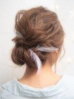 ミエルヘアーアンドスパ(miel hair&spa)◆miel◆ 波ウェーブ 大人girly ヘアセット