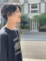 ジョイ ボックス 新大阪店(JOY BOX)センター分けパーマ