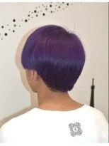 ヘアーサロン エール 原宿(hair salon ailes)(ailes 原宿)style346 クラウドマッシュ☆パープル