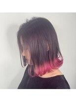 アクタノイドエット(acta noid etto)フェミニティーピンク裾カラー #kota