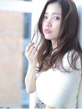 アグ ヘアー レシェル 北花田店(Agu hair reciel)☆大きめカールで小顔セミロング☆