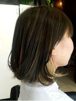 オッジ ヘアー ジャッロ(Oggi Hair giallo)の写真/あなたに寄り添う美のパートナーがここに!丁寧なカウンセリングと的確なカラー選びが好評☆