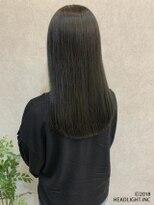 フローレス バイ ヘッドライト 三鷹店(hair flores by HEADLIGHT)セミディ×ダルグレージュ×髪質改善tokio