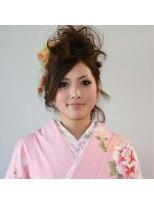 ヘアメイク オブジェ(hair make objet)モヒカンup
