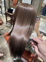 サロンドミルク 原宿(salon de MiLK)髪質改善 艶々 ナチュラルカラー モテますよ♪