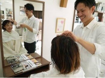 サロン ド クレア(salon de CLEA)の写真/毎日のシャンプーでも頭皮や髪にはダメージが!蓄積したダメージをリセットする【髪質改善ヘアエステ】が◎