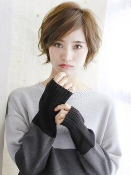 ズール 新城店(ZU LU)の写真/大人女性のショートstyle!顔周りや襟足細部のデザインまでこだわりセルフアレンジ可能な万能スタイルに♪