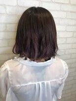 ヘアメイク シュシュ(Hair make chou chou)切りっぱなしボブ×インナーカラー【chou-chou 北林夏実】