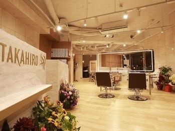 ヘアーサロン タカヒロ(Hair Salon TAKAHIRO)の写真/【三軒茶屋徒歩2分】マンツーマン施術/隣同士が気にならない広々としたプライベート空間!コロナ対策も万全