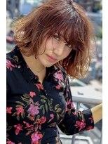 ネイヴィル(navile)☆小顔前髪×3Dハイライトボブ☆【navile大河光太朗】
