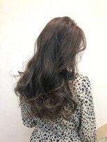 ナナナパレナ 心斎橋店(nanana parena)くすみグレージュ【髪質改善・艶髪】白髪染めもカラーを楽しむ♪