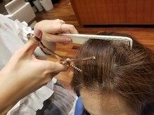 プリビュー(PRIBEAU)の雰囲気(前髪やつむじの割れなどの髪の悩みは鋏1本ヘアリセッターで解決)