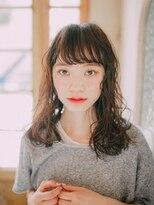 【GrandChariot 笹塚】濡れツヤウェーブセミディ