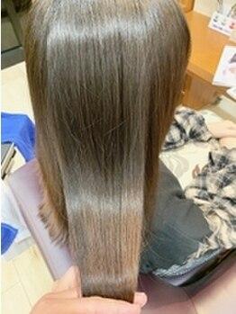 フィールエー 南原町店(feel.a)の写真/理想の髪質を叶えるエンジェルエンブレイスケア!!ダメージレベル・髪質をプロ目線で見極め、憧れの美髪へ♪